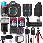 Canon Eos 5ds Dslr + 24-105mm Is Ii + Professinal Flash + Battery Grip + 48gb