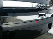 2009-2018 Ford Flex 1 Piece Stainless Rear Deck Trim Trunk Lid Accent. Lower