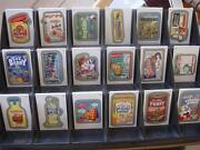 Wacky Packages All New Series Ans 11 128 Silver Card Set Complete All Back Vari
