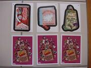 Wacky Packages Ans 11 All New Series Lost Wacky Complete 3 Card Set L1 L2 L3