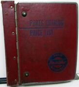 1950and039s Willys Dealer Parts Book Set Military Jeep Car Truck Dj-3a M715 725 4-73