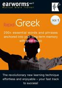 Rapid Greek Vol 1200+ Essential Words And Phrases Anchor... Mixed Media Product