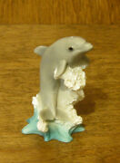 Castagna Mini Animal Figurines 420 Dolphin, Made In Italy, From Retail Store