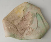 Vintage Art Pottery Contemporary Tray Bowl Studio 1980'S Modern Abstract