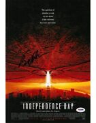 Bill Pullman Signed Independence Day Autographed 11x14 Photo Psa/dna Ad35415
