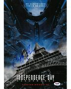 Bill Pullman Signed Independence Day Autographed 11x14 Photo Psa/dna Ad35414