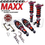 Godspeed Maxx Mmx3530 Damper Coilovers Camber Plat Kit For Mini Cooper 07-13 R56