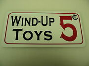 Wind-up Toys Vintage Style Metal Sign 4 Collector Dime And General Store Man Cave