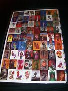 The Definitive Dawn Uncut Card Sheet Signed By Joseph Michael Linsner 103/299