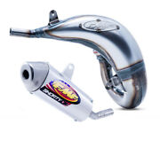 Fmf Factory Fatty Exhaust Pipe And Shorty Silencer - Ktm 125/150 Sx - 2016-2018