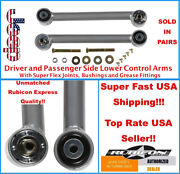Fixed Lower Super Flex Control Arms For 89 1989 Jeep Xj Cherokee