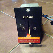 Collins 121a-2 Emergency Disconnect Switch,    Sn 590