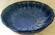McCarty Pottery Blue Emperor Bowl, new
