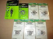 New 7 Pc Greenlee Carbide Tipped Cutters Assorted Sizes 7/8, 1 3/8, 11/16