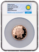 2017 Smithsonian - W. Barber 1877 50 Half-union Copper Ngc Gem Proof Sku50969