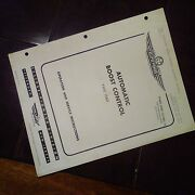 Eclipse Pioneer Automatic Boost Control Type 1560 Operation And Service Manual
