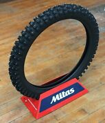 Mitas Studded Winter Motorcycle Pro Extreme Xt-444 Tire Front 80/100-21 300 21