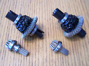2 Traxxas 8s X-maxx Front And Rear Heavy Duty Differential Ring And Pinion Gear Diff
