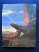 Walt Disney - Art Of The Lion King - Signed By Artists And Original Drawing