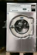 Wascomat Stainless Steel Front Load Washer Coin Op 30lb 220v 3ph Model E630