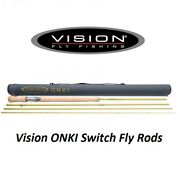 Vision® Onki Switch Fly Rod 11' 6 Von4116 New For 2021 Free Postage