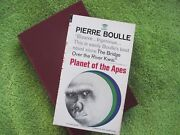 Planet Of The Apes - Signed By Pierre Boulle To His Publisher