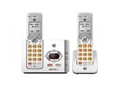 New Atandt El52215 Dect 6.0 Cordless Phone W/ 2 Handsets And Digital Answering Syste
