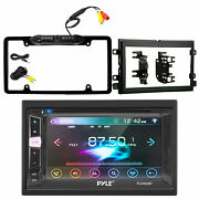 Pyle Touch Screen Bt Receiver W/metra Radio Installation Kit And Rear View Camera