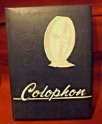 Nice The Colophon 1957 Wyomissing Pa. High School Year Book