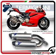 Termignoni License Plate Support With Light Turn Ducati Panigale 1199 1299