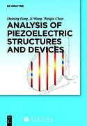 Analysis Of Piezoelectric Structures And Devices English Hardcover Book Free S