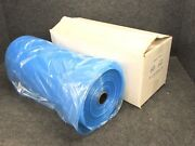 New Dry Cleaning Garment Bags, Blue Tint Poly, 60 X 21 X 7, Full Roll