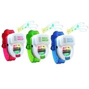 Potty Time Watch Toddler Toilet Training Aid Reminder Timer Blue, Green Or Pink
