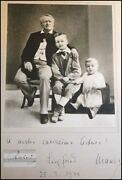 Siegfried And Friedelind Wagner Composer Signed Photo To Toscanini Conductor