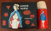 Junior Nurse Lunch Kit 1963 King Seeley Thermos Vinyl Box And Metal Bottle