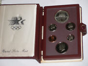 1984 Us Proof Prestige Us Olympic Commemorative 6 Coins