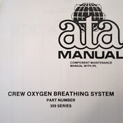 Scott Aviation Crew Oxygen Breathing System 359 Series Service And Parts Manual