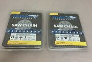 2-pack 20 325-050-78dl Ripping Chainsaw Chain Replaces Husqvarna Jons K1crp-78e