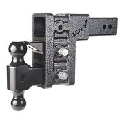 Gen-y Hitch Gh-1723 3 Receiver Class V Ball Mount And Pintle Hitch 6 Drop 32k