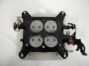 Holley-qft-aed-ccs Billet Blow-thru Base Plate Assembly 1 11/16 650-800 Cfm