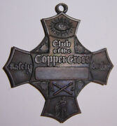 San Francisco Committee Of Vigilance Club Of The Copper Cross Medal