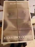 2001 A Space Odyssey First Star Child 1970 Reissue One-sheet Poster N113