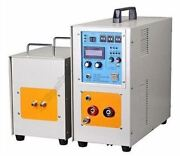 New 25kw High Frequency Induction Dual Station Lh-25ab Heater Furnace 30-80kh Ch