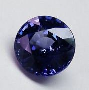 Blue 1.71ct Sapphire Natural Colour - Expertly Faceted In Germany +certificate