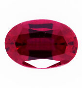 Natural 1.40ct Ruby Expertly Faceted In Germany +certificate Included