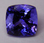 Natural 3.56ct Tanzanite Expertly Faceted In Germany +certificate Included