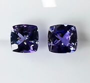 Natural Tanzanite 3.56ct Pair Expertly Faceted In Germany +cert Available
