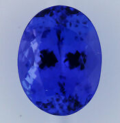 3.84ct Natural Tanzanite Expertly Faceted In Germany +certificate Included