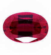 1.40ct Natural Ruby Expertly Faceted In Germany +certificate Included