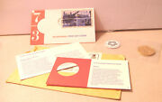 1973 Bicentennial Commemorative Medal And First Day Cover With Commemorative Stamp